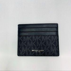 Michael Kors Card Holder Black PVC